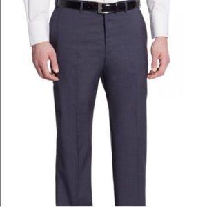 Armani Collezioni Navy Classic Trouser